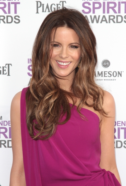 Kate Beckinsale pictured arriving at the 2012 Film Independent Spirit Awards in Santa Monica, Ca February 25, 2012 © RD / Orchon / Retna Digital at 2012 Starry Spirit Awards Red Carpet - Zac Efron, Michelle WIlliams & More!