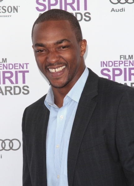 Anthony Mackie pictured arriving at the 2012 Film Independent Spirit Awards in Santa Monica, Ca February 25, 2012 © RD / Orchon / Retna Digital