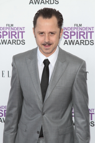 Giovanni Ribisi pictured arriving at the 2012 Film Independent Spirit Awards in Santa Photo