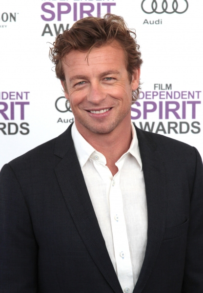 Simon Baker pictured arriving at the 2012 Film Independent Spirit Awards in Santa Monica, Ca February 25, 2012 © RD / Orchon / Retna Digital at 2012 Starry Spirit Awards Red Carpet - Zac Efron, Michelle WIlliams & More!