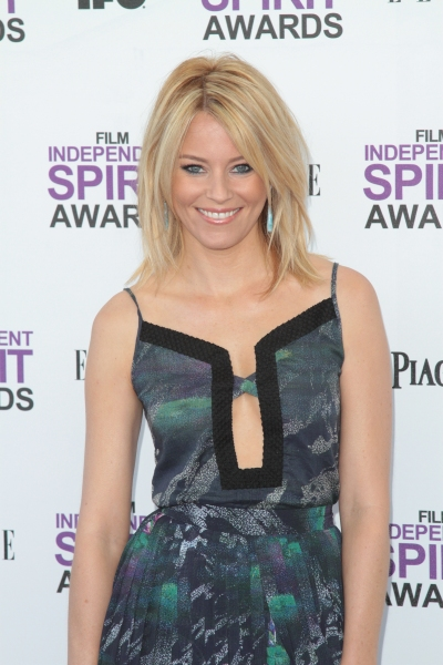 Elizabeth Banks pictured arriving at the 2012 Film Independent Spirit Awards in Santa Monica, Ca February 25, 2012 © RD / Orchon / Retna Digital at 2012 Starry Spirit Awards Red Carpet - Zac Efron, Michelle WIlliams & More!