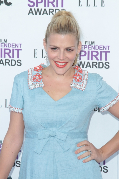 Busy Philipps pictured arriving at the 2012 Film Independent Spirit Awards in Santa Monica, Ca February 25, 2012 © RD / Orchon / Retna Digital