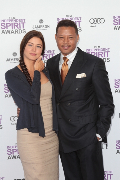 Terrence Howard pictured arriving at the 2012 Film Independent Spirit Awards in Santa Monica, Ca February 25, 2012 © RD / Orchon / Retna Digital