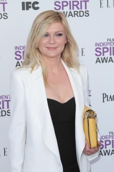 Kirsten Dunst pictured arriving at the 2012 Film Independent Spirit Awards in Santa M Photo