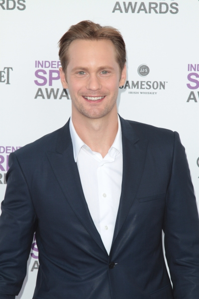 Alexander Skarsgard pictured arriving at the 2012 Film Independent Spirit Awards in Santa Monica, Ca February 25, 2012 © RD / Orchon / Retna Digital