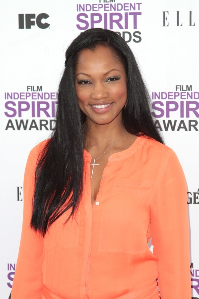 Garcelle Beauvais pictured arriving at the 2012 Film Independent Spirit Awards in San Photo