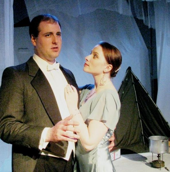 Michael Wurzel, Cat Miller at Actors' NET Presents TERRA NOVA