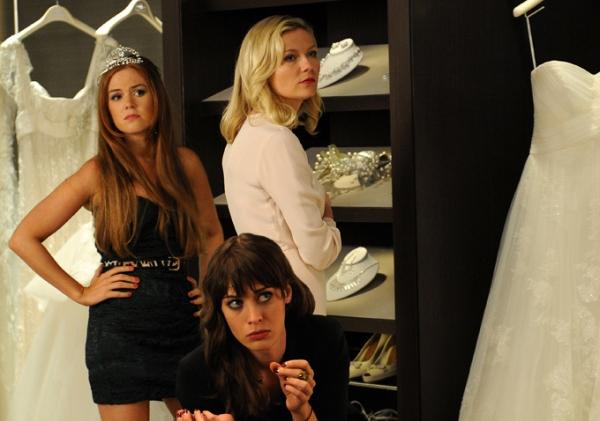 Isla Fisher, Lizzy Caplan and Kirsten Dunst