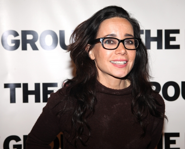 Janeane Garofalo  at Alan Rickman, Janeane Garofalo & More Honor David Rabe, Nancy Manochrian at The 2012 New Group Gala