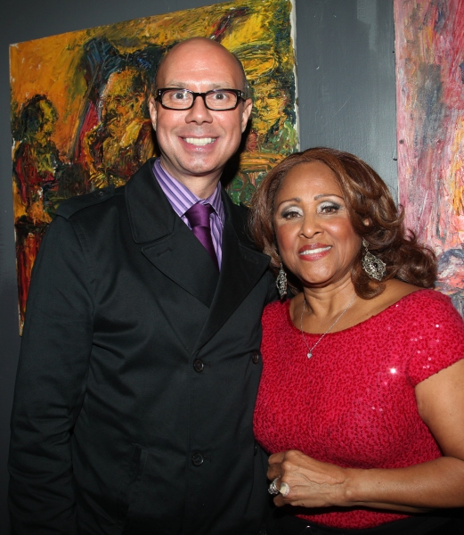 Richie Ridge & Darlene Love at Joel Grey, Adam Pascal & More Sing 'Broadway Belts for PFF!'