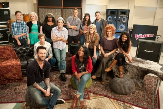 Photo Flash: Final Teams Revealed on NBC's THE VOICE