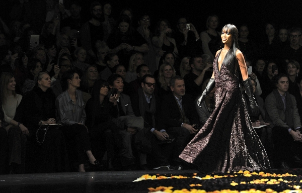 3 at Roberto Cavalli at Milan Fashion Week