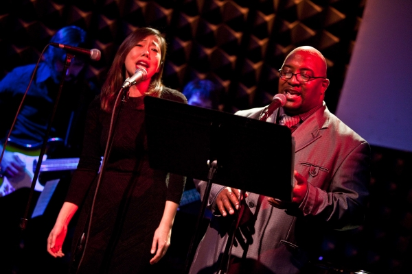 Pearl Sun and Nikkieli Demone at Broadway Remembers Whitney Houston at Joe's Pub