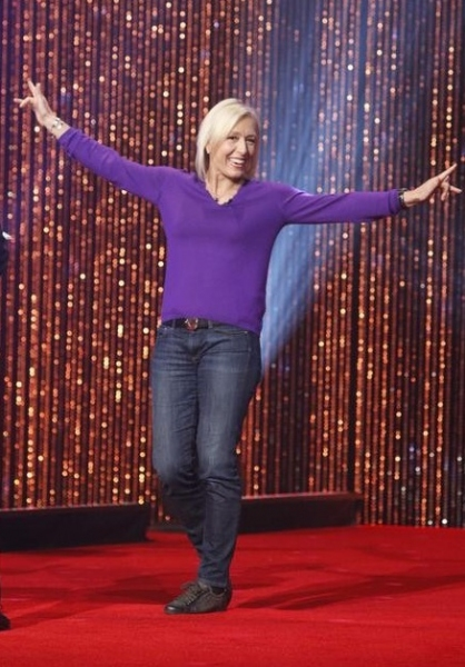 Martina Navratilova at First Look - The Cast of DANCING WITH THE STARS Season 14