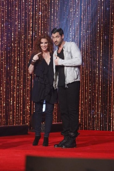 Melissa Gilbert & Maksim Chmerkovskiy at First Look - The Cast of DANCING WITH THE STARS Season 14