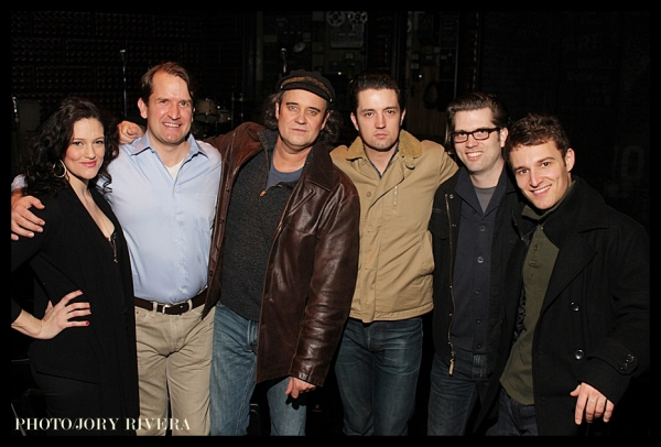 Photo Coverage: Backstage at MILLION DOLLAR QUARTET  Cocktail Reception At New World Stages