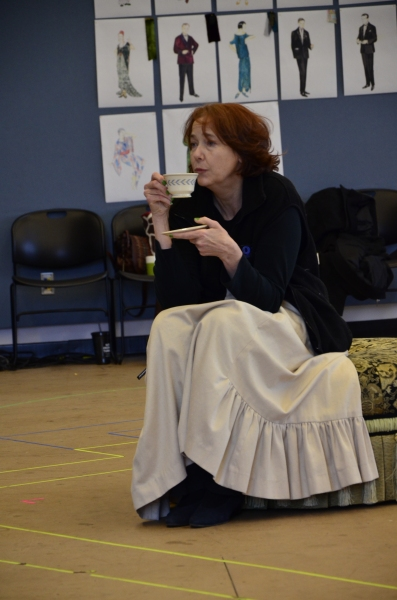 Harriet Harris at Meet the Cast of Guthrie Theater's HAY FEVER