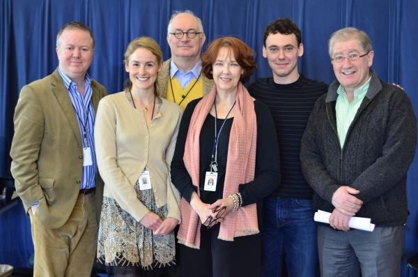 Christopher Luscombe, Cat Walleck, Simon Jones, Harriet Harris, John Skelley, Joe Dow Photo