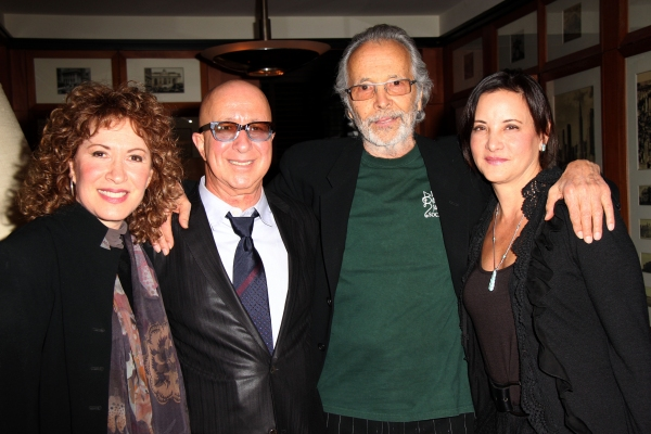 Lani Hall, Paul Shaffer, Herb Alpert, Cathy Vasapoli at Reeve Carney & More Celebrate Grammy Winners Herb Albert & Lani Hall at the Cafe Carlyle