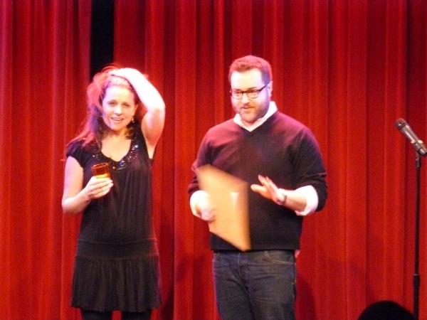 Julia Haubner Smith (Co-Artistic Director) and Michael Barra (Producing Artistic Director)
