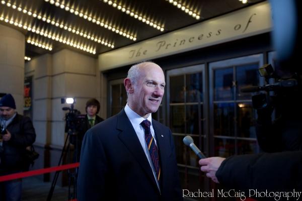 David Mirvish on the Red Carpet