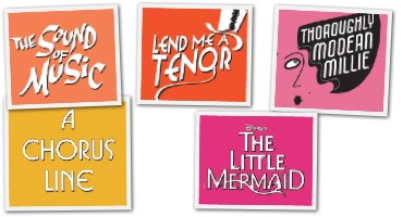 Paper Mill Announces '12-'13 Season - MILLIE, MERMAID & More!