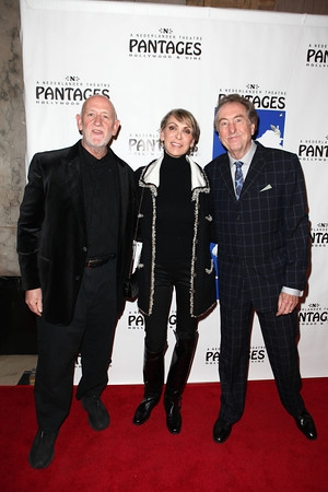 John Du Prez, Tania Kosevich and Eric Idle