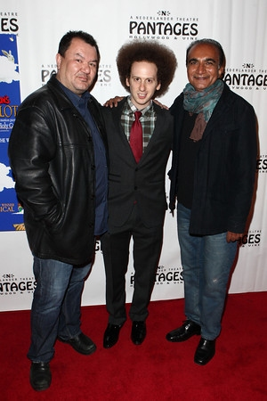 Patrick Gallagher, Josh Sussman and Iqbal Theba