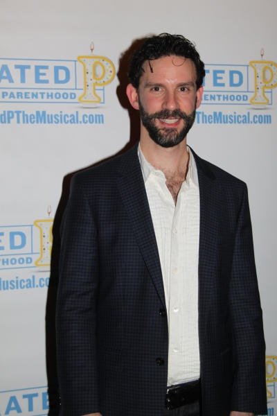 Jeremy Dobrish at RATED P FOR PARENTHOOD Opens Off-Broadway