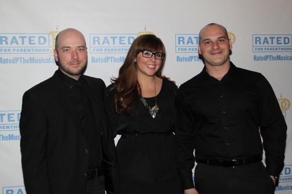 Nathan A. Roberts, Meg Zervoulis and Vincent Livolsi Photo