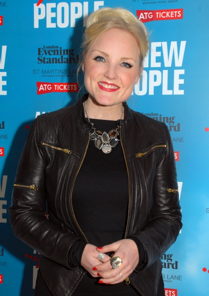 Kerry Ellis  at More! Zach Braff & Co. At ALL NEW PEOPLE Opening Night