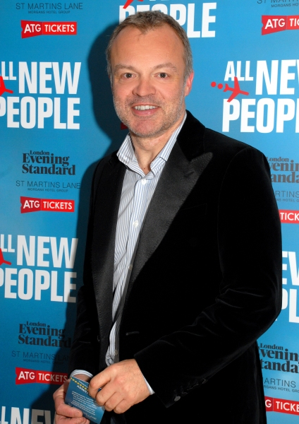 Graham Norton at More! Zach Braff & Co. At ALL NEW PEOPLE Opening Night