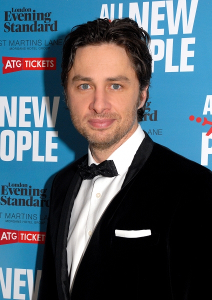 Zach Braff at More! Zach Braff & Co. At ALL NEW PEOPLE Opening Night