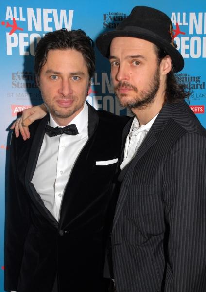 Zach Braff and Paul Hilton
