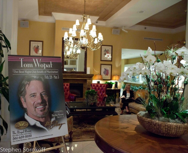 Photo Coverage: Tom Wopat Plays the Royal Room at The Colony Hotel