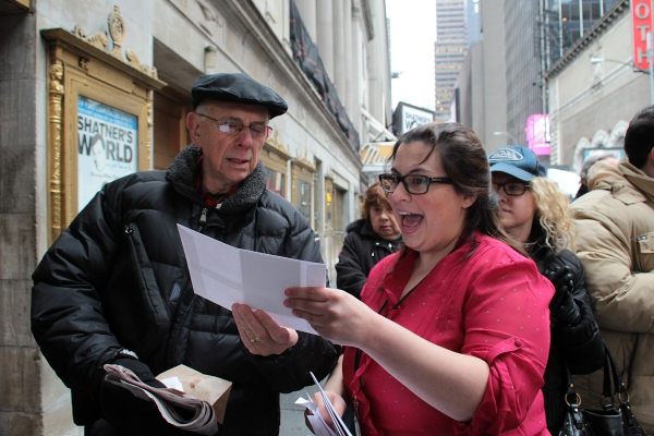 Photo Coverage: NICE WORK IF YOU CAN GET IT Box Office Opens at the Imperial