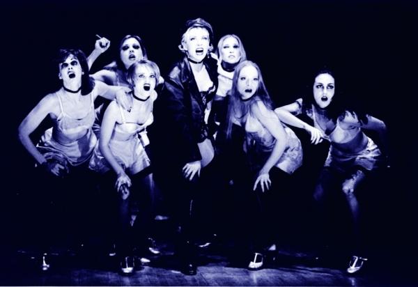 Natasha Richardson and the Kit Kat Girls in 'Cabaret' Photo