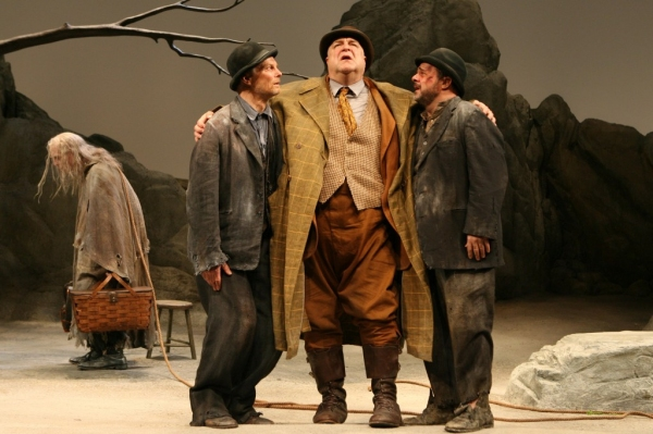 John Glover, Bill Irwin, John Goodman, and Nathan Lane in 'Waiting for Godot' at Roundabout Broadway Highlights: WAITING FOR GODOT