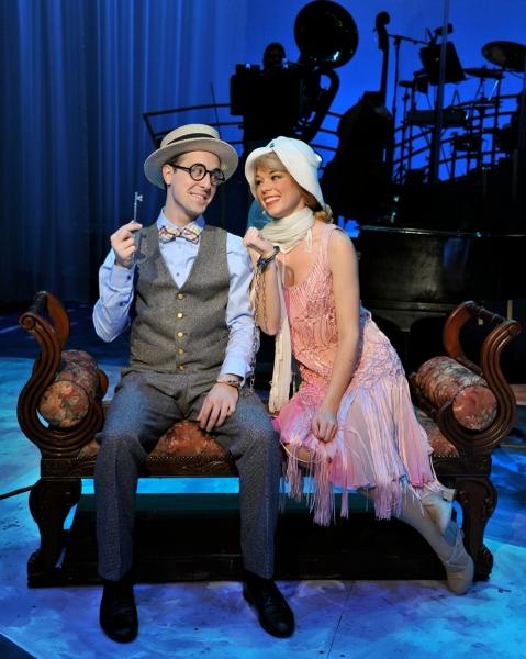 Blakely Slaybaugh( as Harold)  and Deidre Harran(as Leslie)
