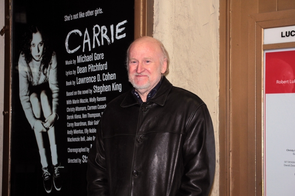 Rocco Landesman at CARRIE's Opening Night Red Carpet