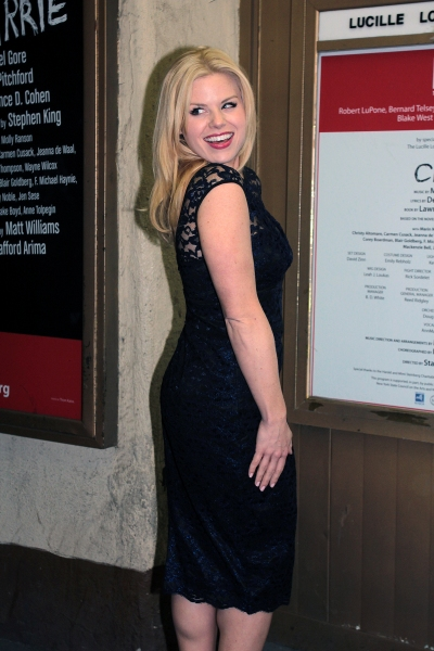 Photo Coverage: CARRIE's Opening Night Red Carpet