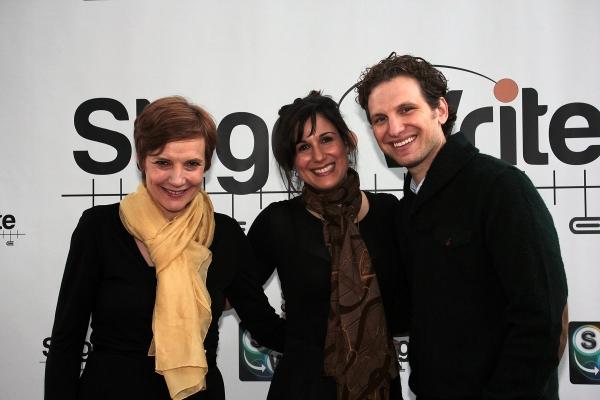 Tara Rubin, Stephanie J. Block, Sebastian Arcelus