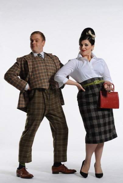 Owain Arthur and Jodie Prenger
