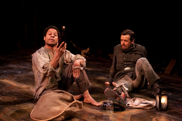 Che Ayende and Josh Landay at First Look at Hartford Stage's THE WHIPPING MAN