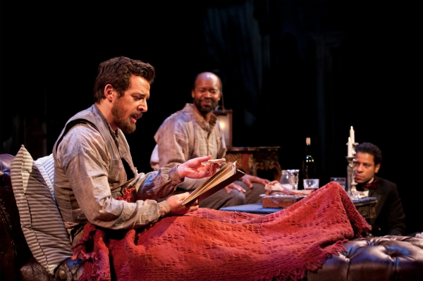 Josh Landay, Leon Addison Brown and Che Ayende at First Look at Hartford Stage's THE WHIPPING MAN