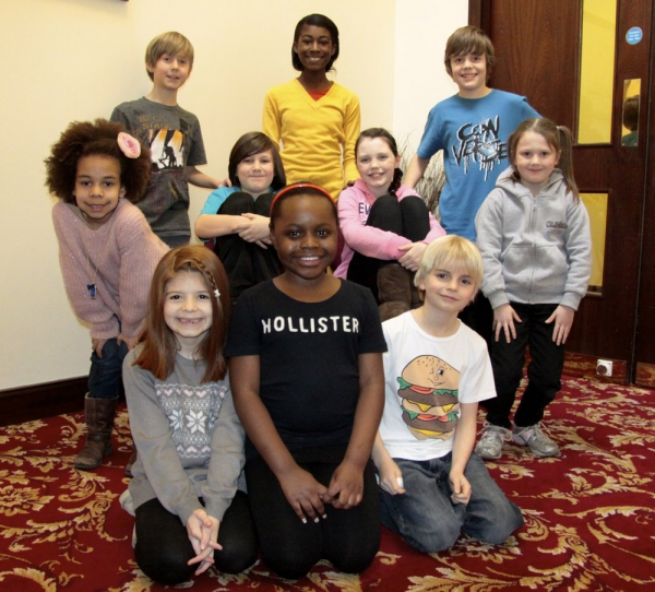 Robert Gain, Deja Linton, Haydon Downing. Middle Row: Ella Pearl Marshall-Pinder, Rae Photo