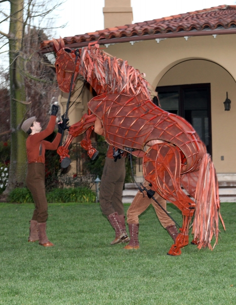 Photo Flash: WAR HORSE at the Ahmanson Home