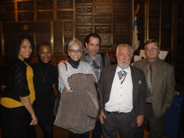 Diana Zollicoffer, Kenyetta Lethridge, Brooke Adams, Tony Shalhoub, Michael Mann, Eddie Gaynes at Tony Shalhoub, Brooke Adams at First Preview of Kenyetta Lethridge's INNOCENT FLESH