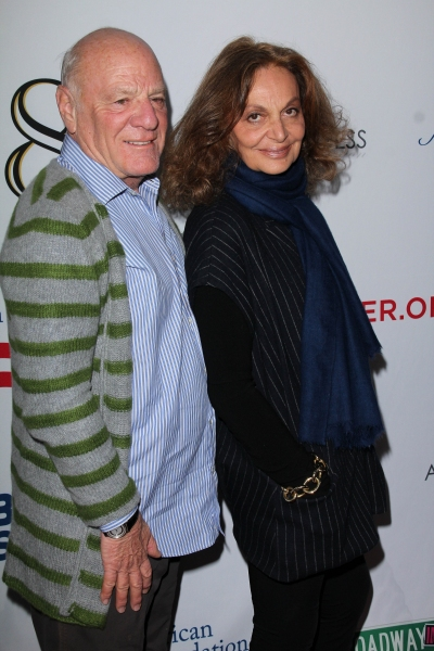 Barry Diller and Diane von Furstenberg at Star Studded Arrivals at '8' Premiere