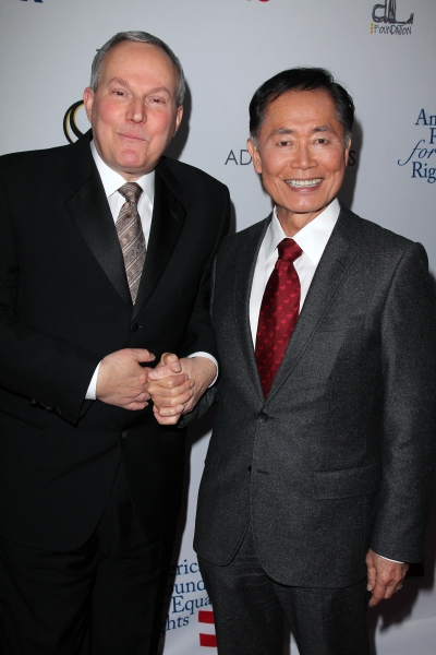 Brad Altman and George Takei